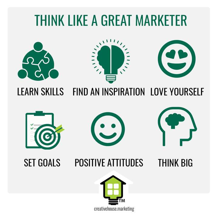 Being a great marketer can be hard at times, but know you're doing your BEST!  Here are some quick tips to keep your min...