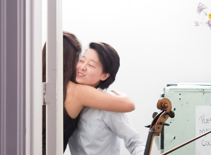 Oh, how we miss a big hug after a performance! We cannot wait for things to get better and to share live chamber music w...