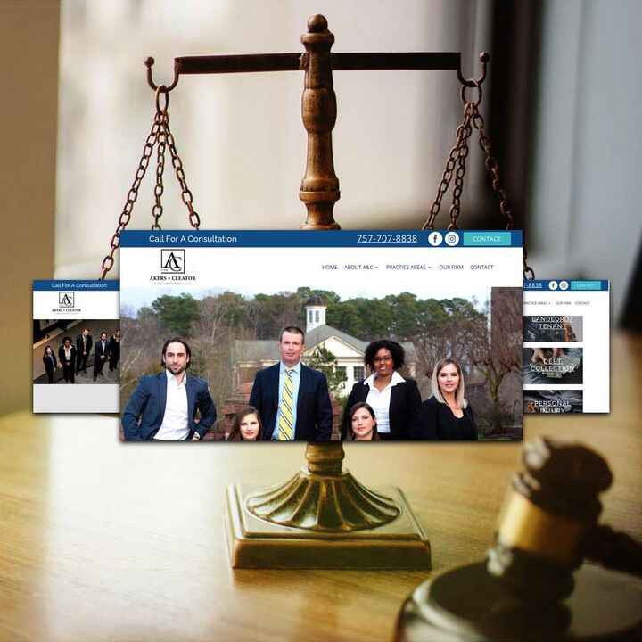 Thanks to Akers & Cleator Law Group, PLLC for trusting us with their web design project! ..#elevate #lawfirm #lawfirms #...