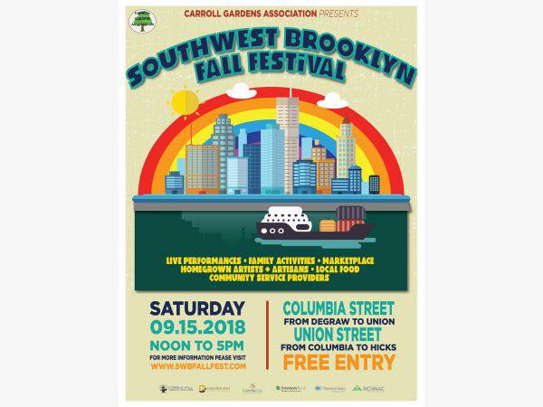Saturday 9/15 Metropolis Productions for Sound and Stage was at it again; only this time for the Southwest Brooklyn Fall...