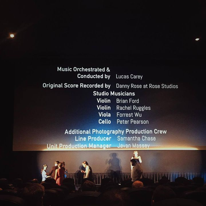 Rose Studios' debut credit on an official cinema screen for the NY Premier of The Revival at @newfest, hopefully the fir...