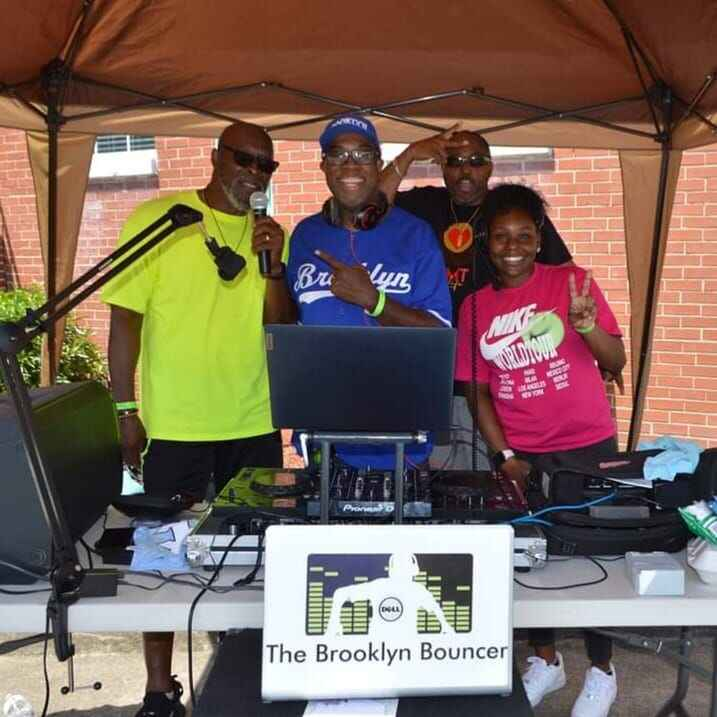 Team Brooklyn Bouncer in full effect! Hit us up for your next event! Hip Hop, Gospel, Reggae, House, R&B, Country, Rock ...