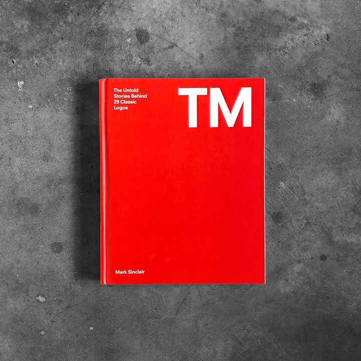 """Today in the store 📕 TM: The Untold Stories Behind 29 Classic Logos, published by @laurencekingpub. 7 in stock. """"Authori..."""