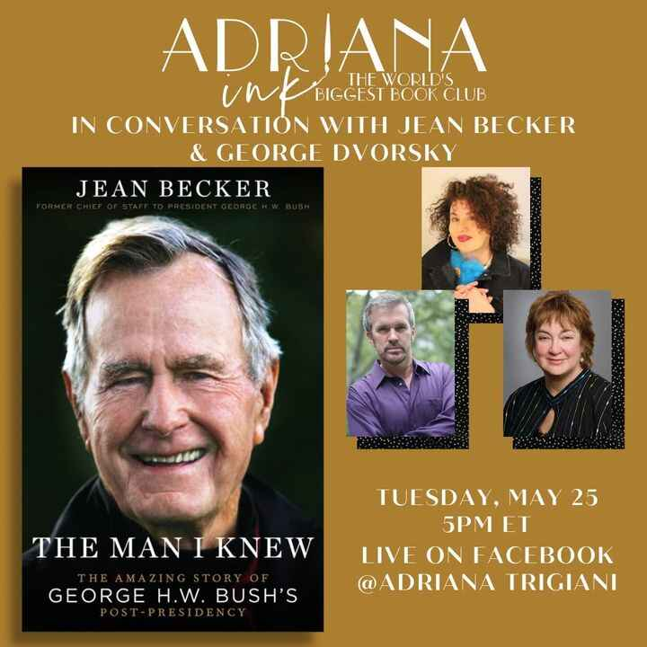 June in tomorrow, Tuesday, May 25th at 5pm ET for a conversation between Jean Becker & George Dvorsky, moderated by Adri...