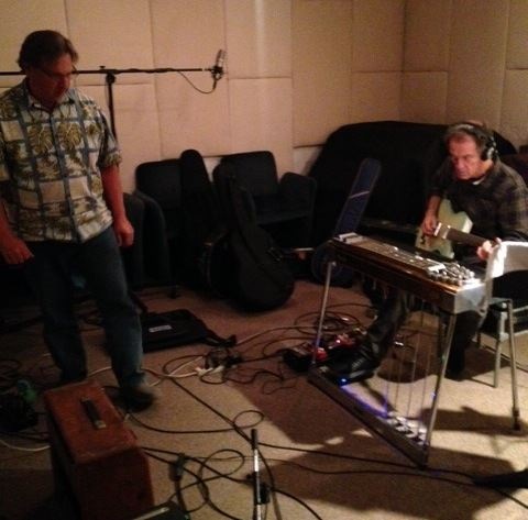 Recorded Greg Leisz today, on Richard Hasting's project.