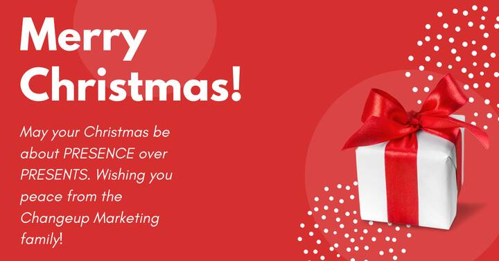 Wishing you a Merry Christmas full of great memories and joy!