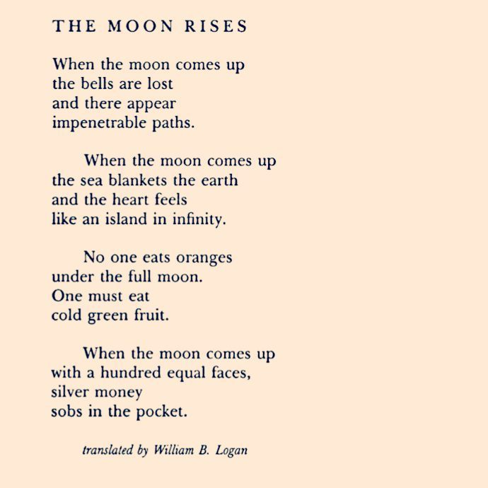 a Federico García Lorca poem for you in honor of today's eclipse! #poem #poetry #literature #lorca #moon #eclipse