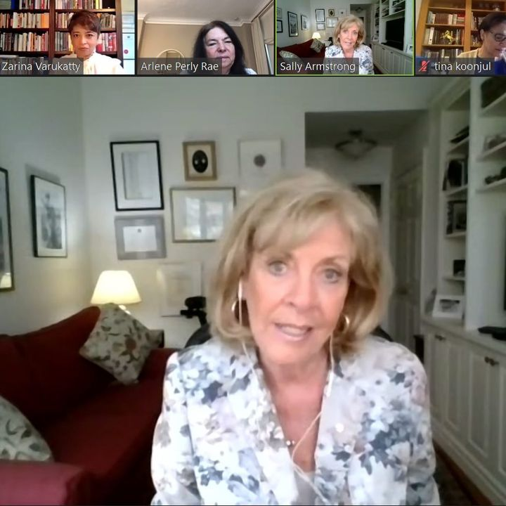 The Women's International Forum had the privilege of listening to Sally Armstrong, war correspondent, author and human r...