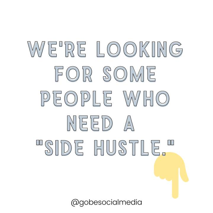 We are looking for some cool people 😎 who have some social media skills* and want a little extra work on the side. Is th...