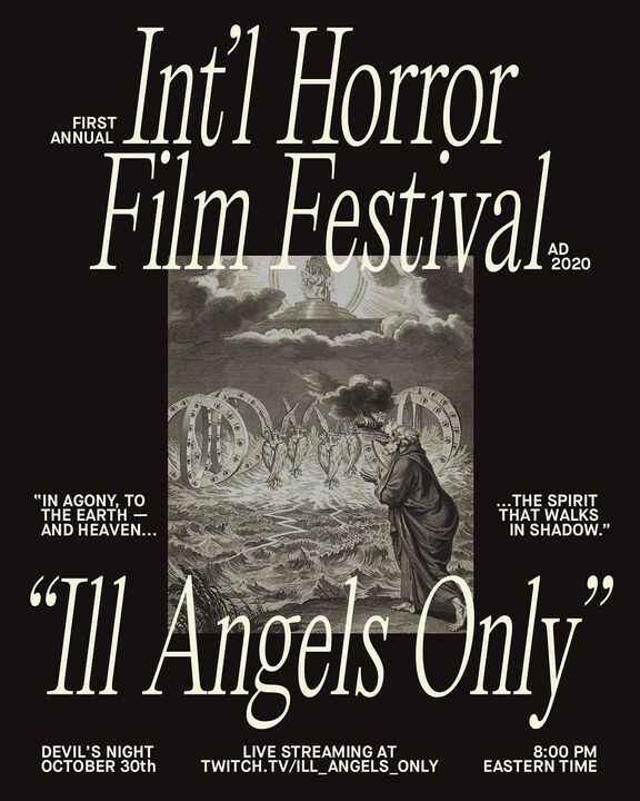 TONIGHT @ 8PM tune in to the #IllAngelsOnly International Horror Film Festival where you can catch our sketch 'Meltdown'...
