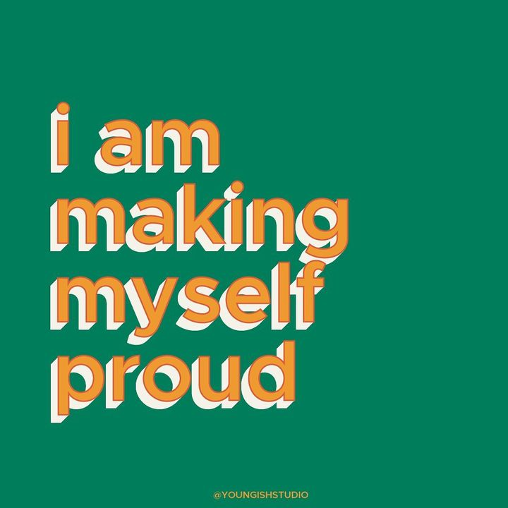 Just a reminder that small victories are still victories. Be proud of who you are and how far you've come. Don't be afra...