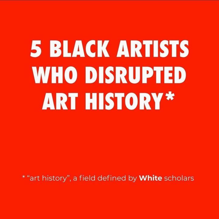 Thank you @curina.co . And @damiendavis for sharing—Black artists have been challenging eurocentric narratives for decad...