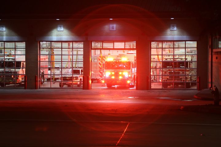 Spoke too soon,  Rescue 1 responding to a reported structure fire.  Disregarded shortly after.   11/21/20