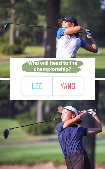 Congratulations to Yinyoe Yang on making it to the Final Four at the ASGA JUNIOR match play at age 13! She is the younge...
