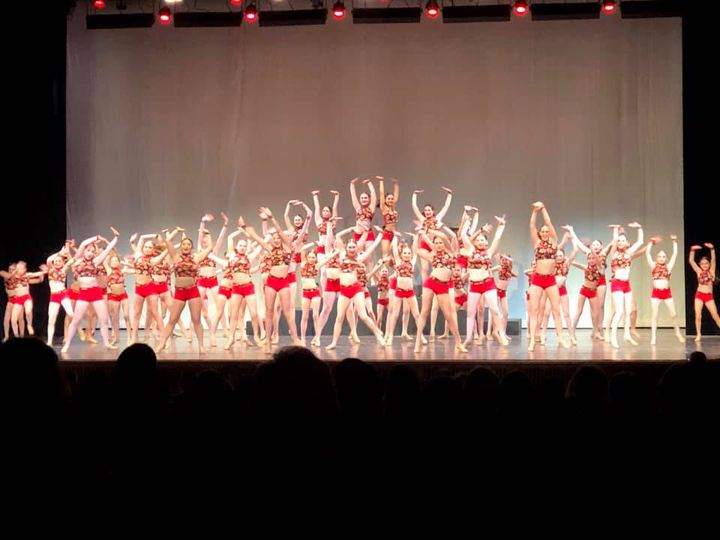 Saturday afternoon I video tape the 6th annual preview showcase for LEDC. Willow Street Dance Steps.