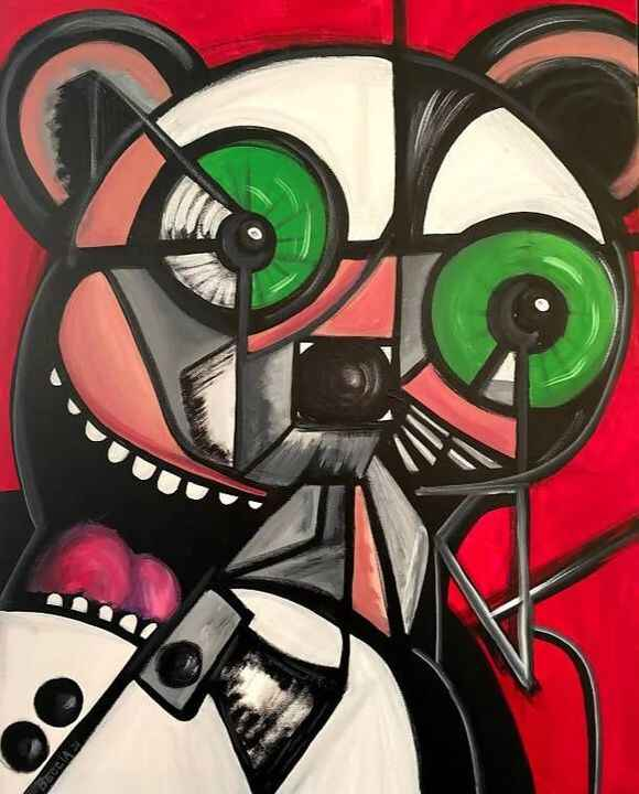 Metamorphic MouseSTEPHEN BECCIAPrice$800.00Free shipping in USAOriginal, handmade and signedThis 24 x 30 acrylic paintin...