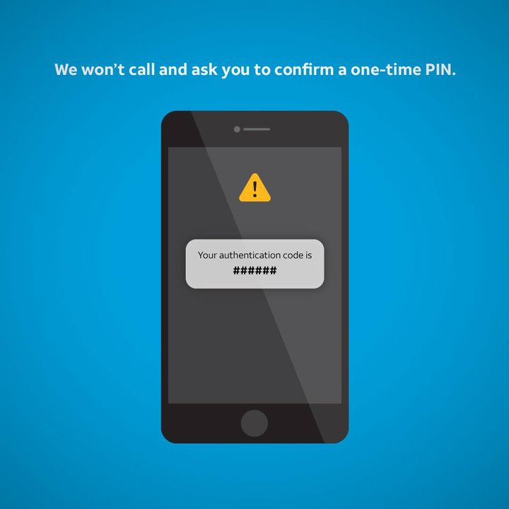 Stay alert. Spot and avoid scams. This post can help: http://go.att.com/932572c4