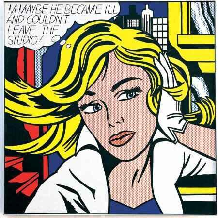 Roy Lichtenstein, Maybe, 1963.