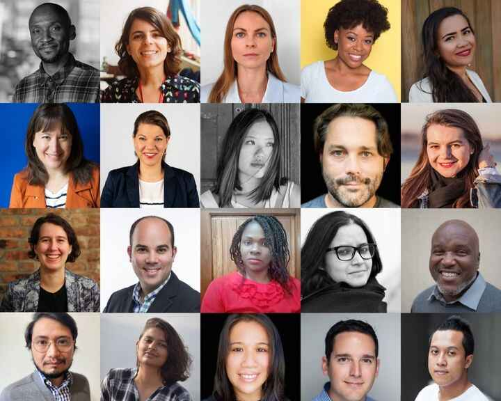 Congrats to our inaugural class of Entrepreneurial Journalism Creators!