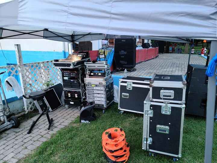 Wow long day in the killer heat but we pulled another show out and beat the rain.With Philly Soul Collective, and Ultima...
