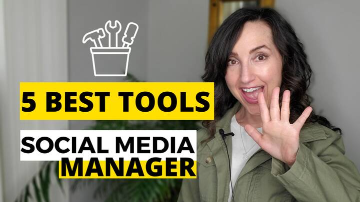 You can see by the job postings on LinkedIn that social media managers are in high demand. So I created some tip videos ...