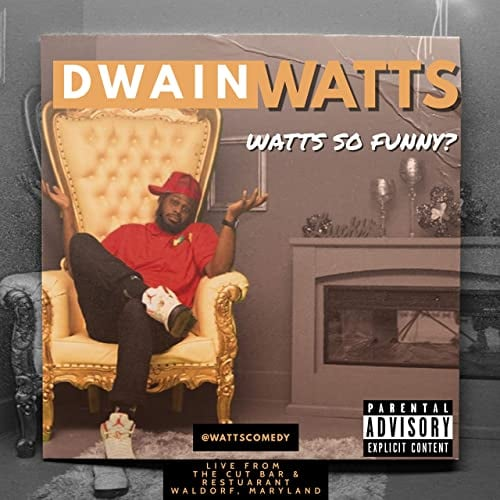 We would like to congratulate Dwain Watts  on his new comedy album -Watts So Funny? Download and Stream today! Apple Mus...