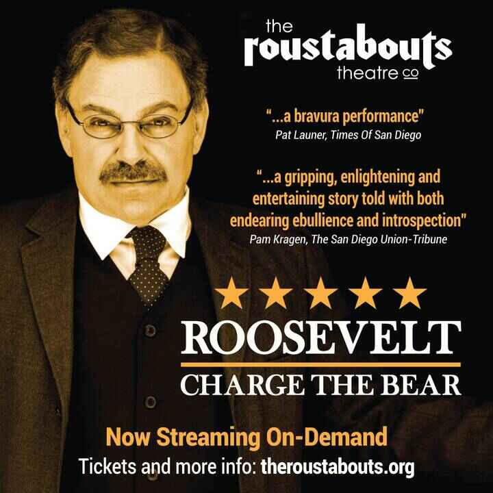 Roosevelt: Charge The Bear stars our friend Phil Johnson as President Theodore Roosevelt, one of the most fascinating pe...