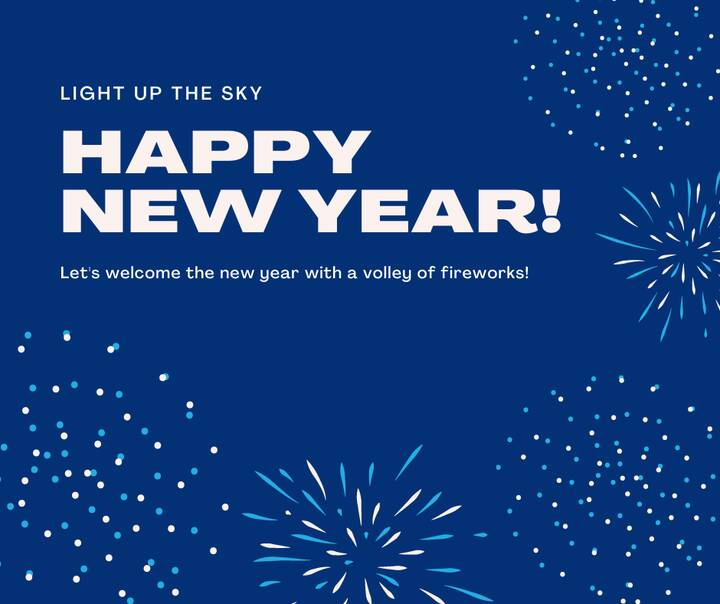 We want to wish everyone a Happy New Year and hope that everyone has a great start to 2021!