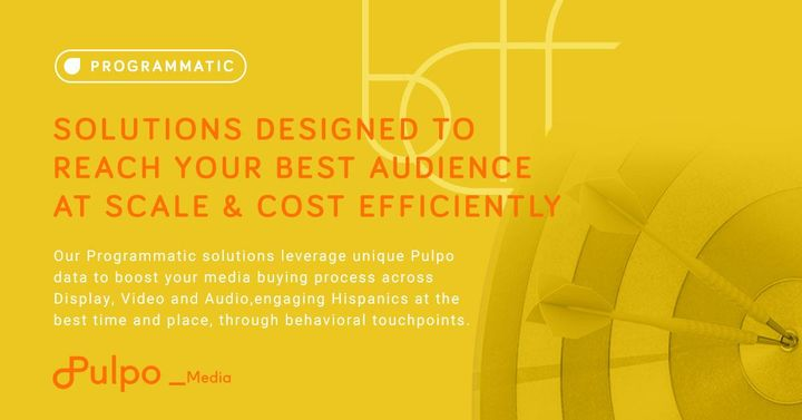 💻📱 | #PULPOMEDIAOur Programmatic solutions work for you. Pulpo offers you flexibility to support your campaign needs: ht...