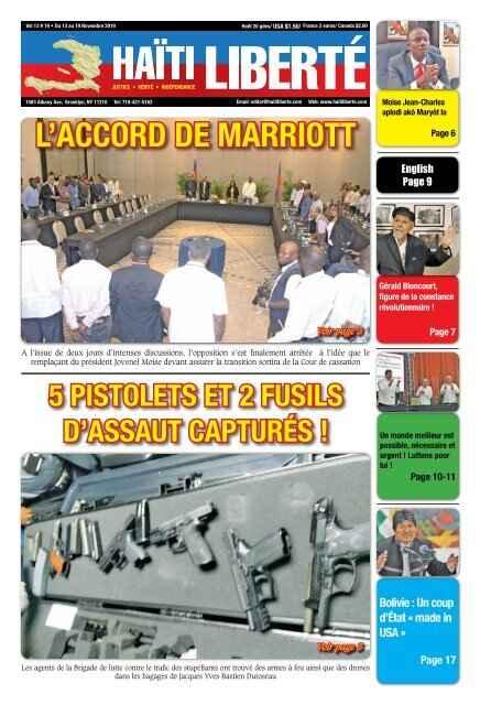 Haiti Liberté's cover photo
