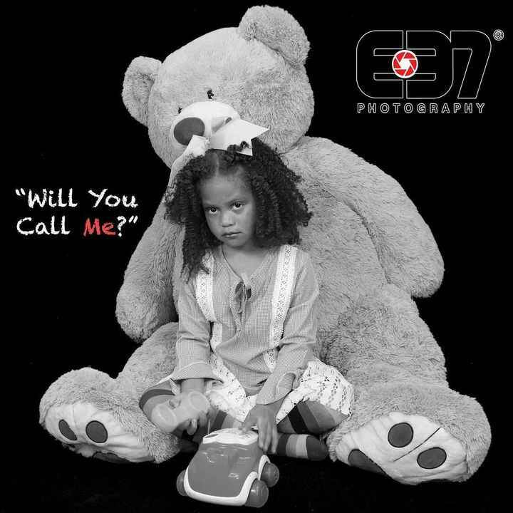 """""""Teddy and I just want to talk"""" @e37_psppatl @e37photography @kennedi_powell #children #Model #childphotographer #child ..."""