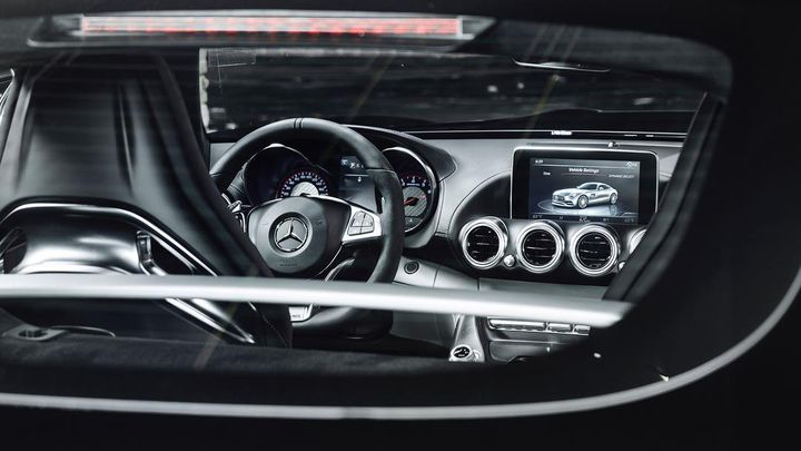 A view you'll never really see but it's a view that we really liked.  #Mercedes #Benz #MercedesAMG #AMG #AMGGTS #BiTurbo...