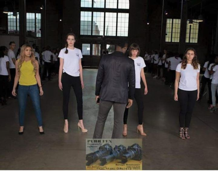 Great times with Walk Runway Fashion Show at our last rehearsal training and coaching the models getting them ready for ...