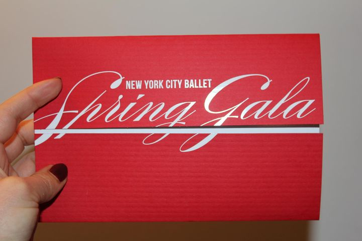 Gearing up for Gala- So excited about this year's Spring Gala!  Beautiful duplex stock with foil and die-cut.  Archetype...