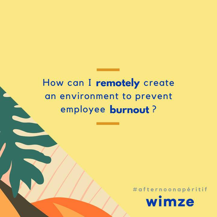 Happy Friday Eve! It's time for an #AfternoonApéritif with Wimze 🍸Our Co-Founder & Chief Strategist, Taylor, on ways to ...