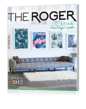 Dive into ISSUE III!  Check it out at www.therogermag.com