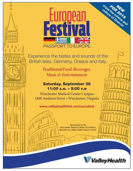 Come join us tomorrow to celebrate Winchester's European Festival! We will be running sound for the Italian, British, Gr...