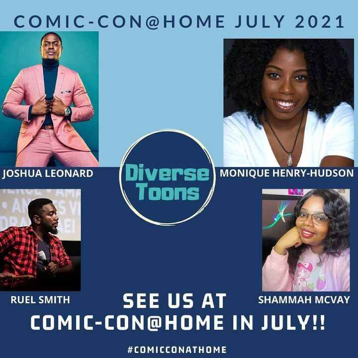 Team Supreme made it to @comic_con! Shoutout to @diversetoons for this amazing opportunity! 🙏🏿🔥🔥🔥 Let's GoOO!!! #comicco...