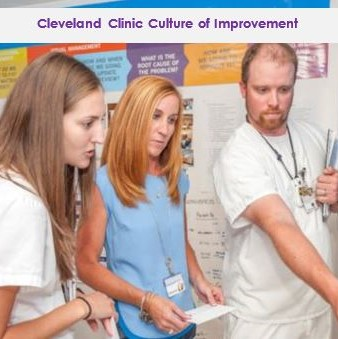 Learn how Cleveland Clinic engaged 52,000 caregivers in a culture of continuous improvement on a quest to deliver safer,...