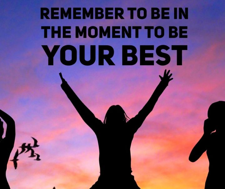 #Wordstoliveby - Remember to be in the moment to be your best 🙌 ......#digitalproduction #digitalcontent #supportlocalmu...