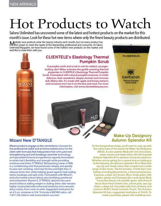 Oct/Nov 2010 Issue- Hot New Products