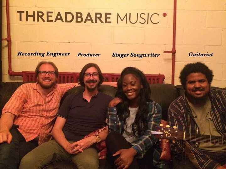 'I'd Rather a Cheater' recording session with Tori Alleyne!