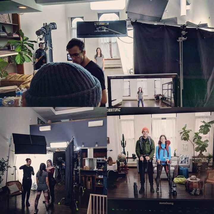 Another great day! Directing commercials for awesome clients. Much gratitude to everyone to everyone that helped bring t...