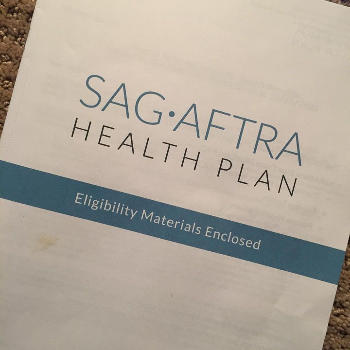 I can't overstate the peace of mind that comes with qualifying for another year of #SAG-AFTRA health insurance for my fa...