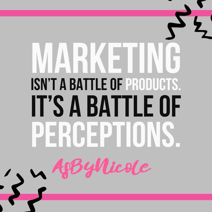 How does your prospects view you? This is the only thing that matters in marketing.Are you at the top of their mind or a...