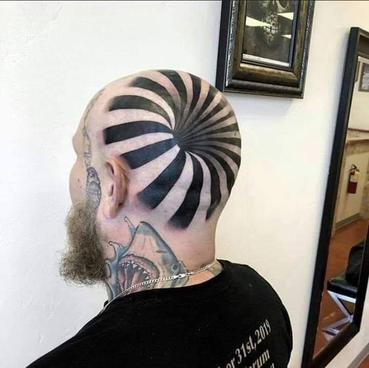 This tattoo is tripping me out