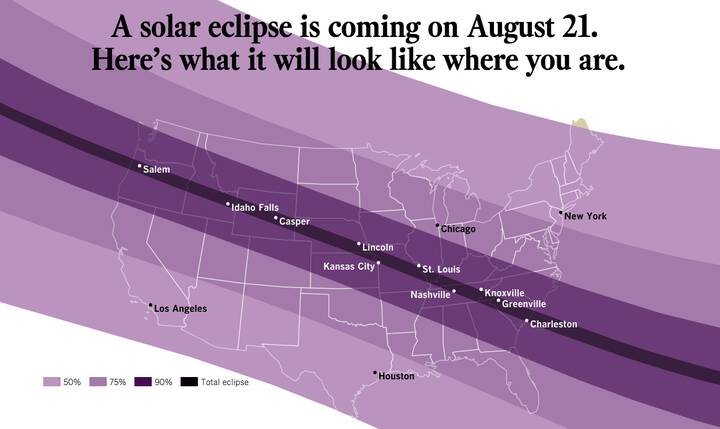 Tomorrow the 21st in CA from about 9-11am PST we will be able to see this very rare #SolarEclipse! http://ow.ly/LL8Z30eu...