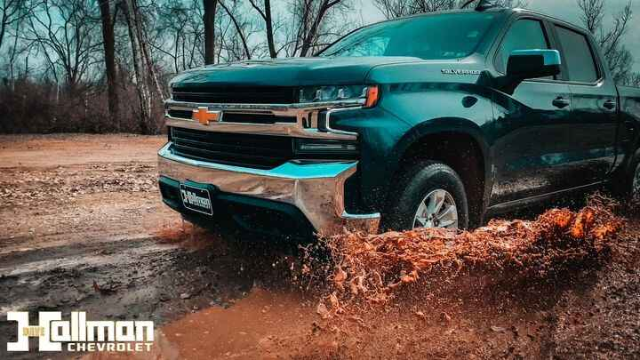 Here is a fun picture I captured while taking this Silverado through a mud puddle! Check out more of my work at www.colt...