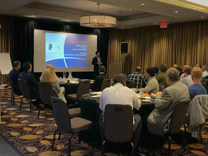 Our President Steve Herz with an amazing presentation on effective communication to Somnia Anesthesiologists from all ov...