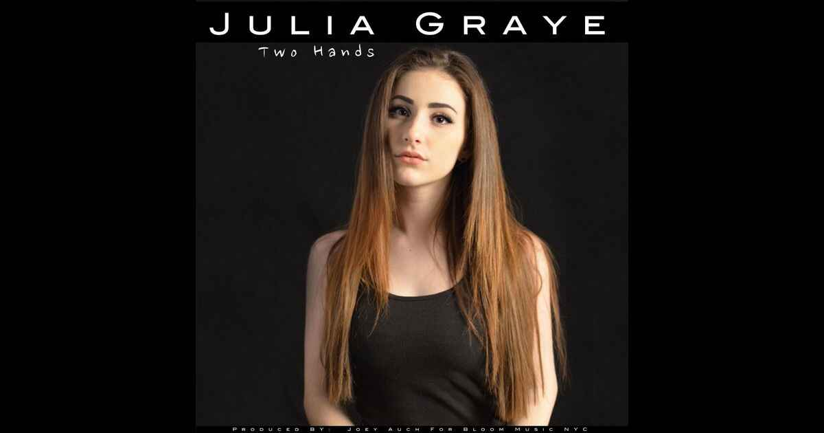 """Bloom Music NYC is excited to announce the official release of the latest single """"Two Hands"""" by Julia Graye.   Available..."""